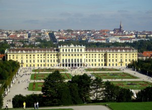 The Schoenbrunn Palace in Vienna, where my grandfather was stationed at the end of the Second World War