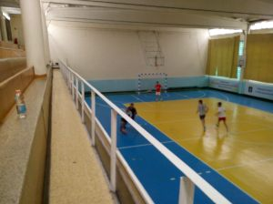 The newly-refurbished Burovskiy Gym hosts titanic 'Russia v Rest of the World' futsal clashes every Saturday, with Jonny 'Siberian McGeady' McKenna pulling the strings for the visitors